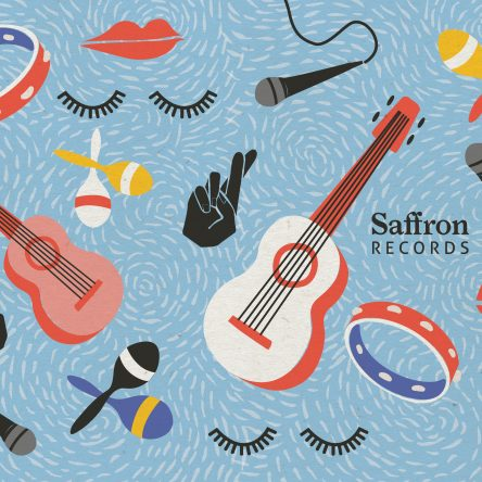 saffron-records-blue-illustration