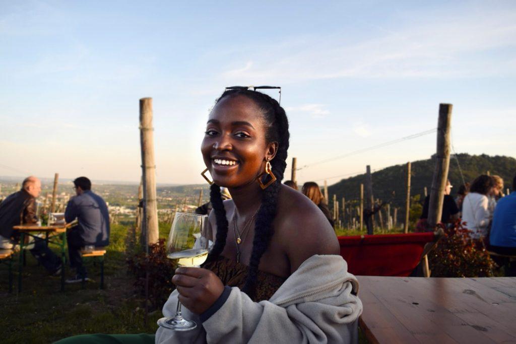Vienna vineyard and EBM - Jackie Aberi